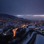 Sarajevo by night, by Igor